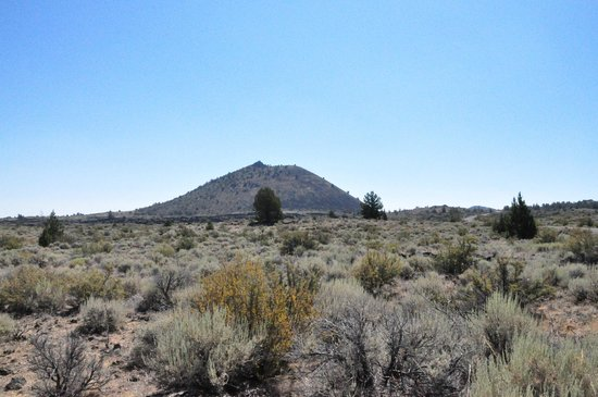 Lava Beds National Monument: Above ground