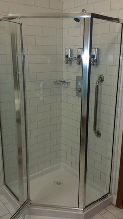 Four Points by Sheraton Victoria Gateway: shower