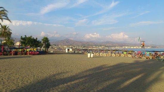 Hotel Torremar: Stranden rett ved hotellet