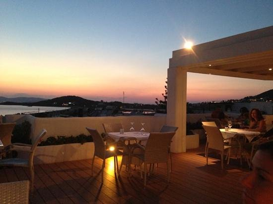 The Taverna: terrazza panoramica