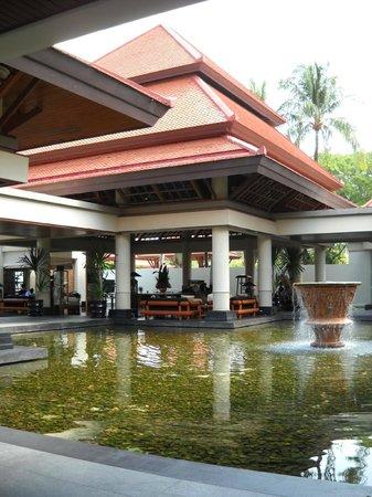 DoublePool Villas by Banyan Tree: Entrance area