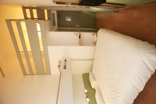 Ibis Budget Nantes Sainte Luce : chambre familiale 4/5 personnes