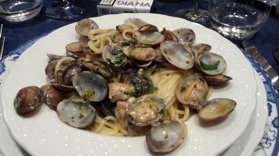Hotel Belsoggiorno: spaghetti con vongole
