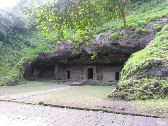 Elephanta Island, India: lesser known caves