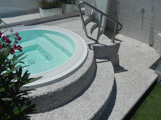 Hotel Ambrosiana: vasca idromassaggio