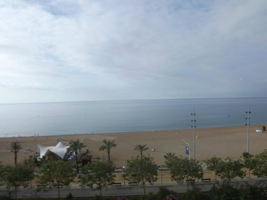 Internacional Hotel: Sea view from the room