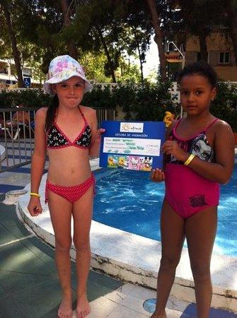 Ohtels Playa de Oro : haciendo amiguitas!!!