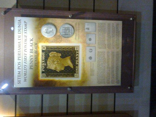 Melaka Stamp Museum: The famed Black Penny Stamp!