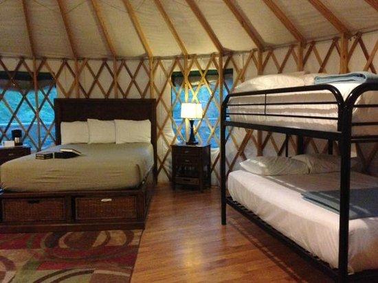 Catherine's Landing, an RVC Outdoor Destination: Yurt #4