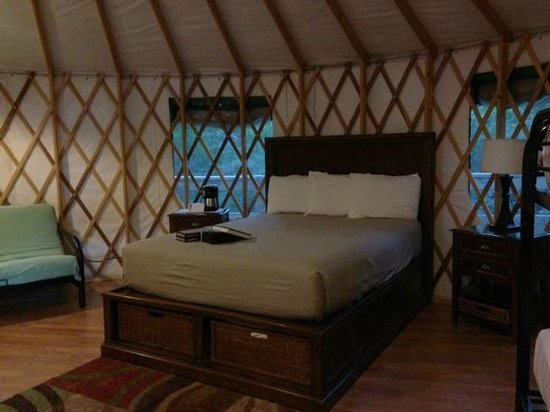 Catherine's Landing, an RVC Outdoor Destination: Yurt #4