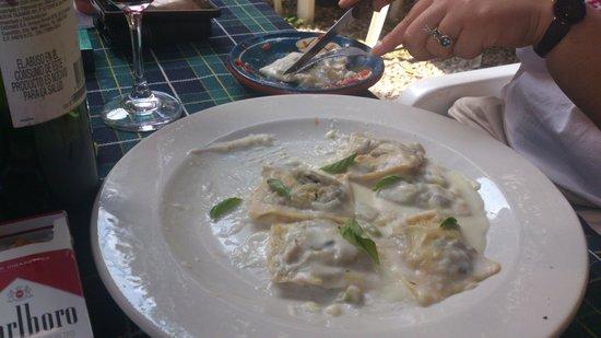 La Trattoria Della Nonna: Revioli deliciosos