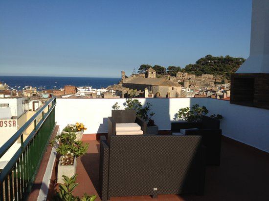 Hotel Tarull: Bellissima vista