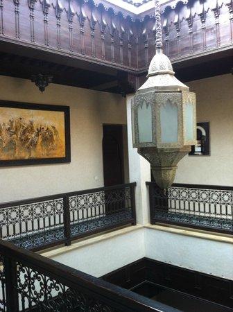 Riad Bahia Salam: Patio interior