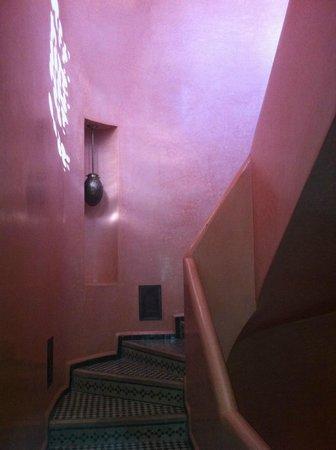 Riad Bahia Salam: Escada