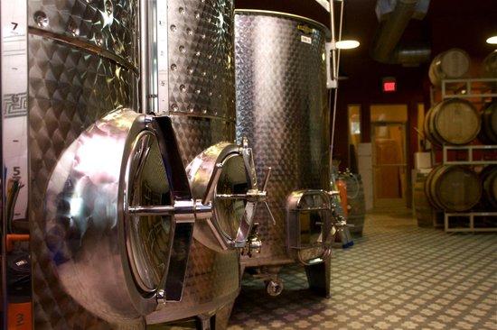Travessia Urban Winery: The winery