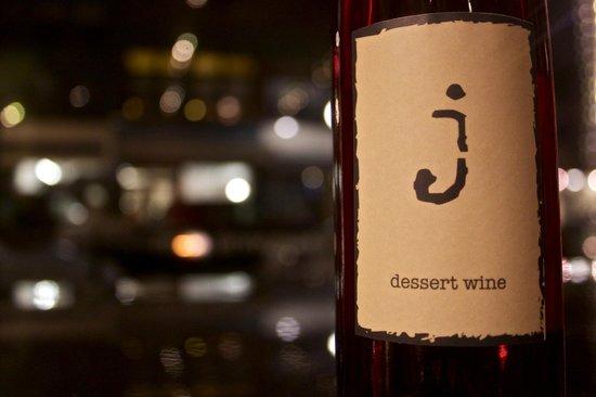 "Travessia Urban Winery: The ""J"" dessert wine... ""J"" is for ""Jeropiga"""