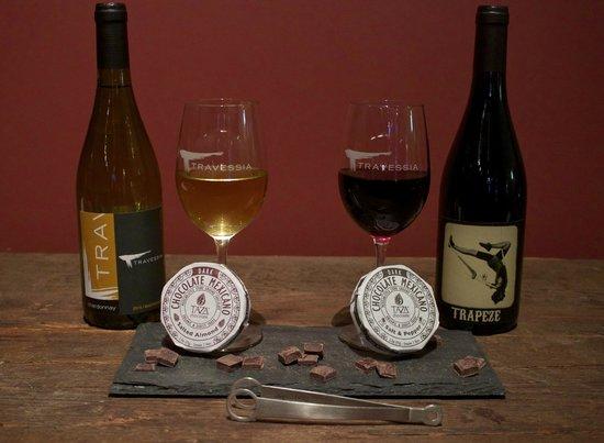 Travessia Urban Winery: Chocolate pairings