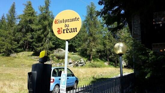 Ristorante Brean: entrata