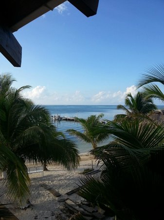 Ambergris Divers Resort: view from balcony