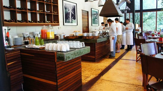 Hotel Rodavento: breakfast buffet