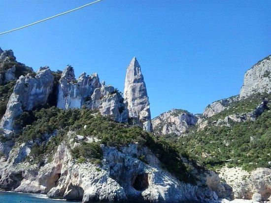Santa Maria Navarrese, Italia: Cala Goloritze, la guglia