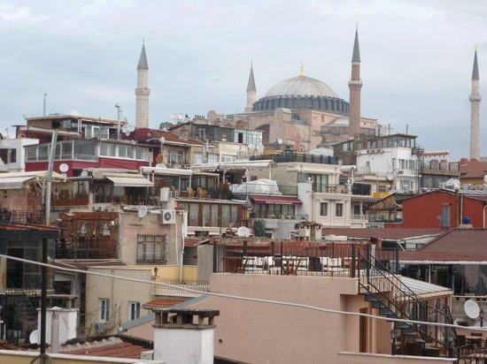 Azade Hotel: Hotel Rooftop View