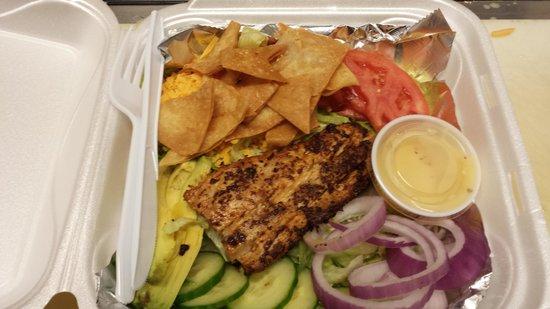 Crabby Chris : Mahi Mahi Salad