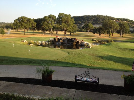 Tapatio Springs Hill Country Resort: View from restaurant