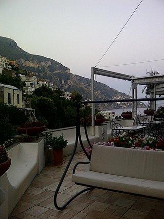 Casa Teresa: la terraza