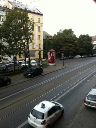 Hotel Kazimierz II : view from our room