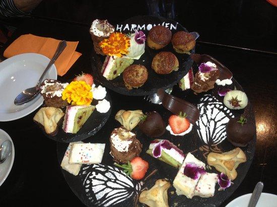 Harmonien Hotel: Lækker dessert :-)