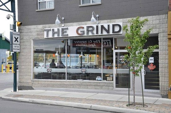 The Grind Cafe: FRONT ST TRENTON....ON THE TRENT RIVER