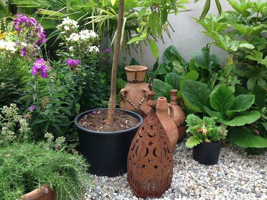 De Witte Nijl : Decoration in the garden