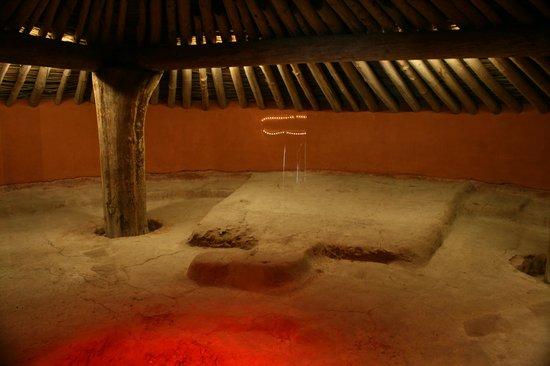 Ocmulgee National Monument: Inside the Earthlodge