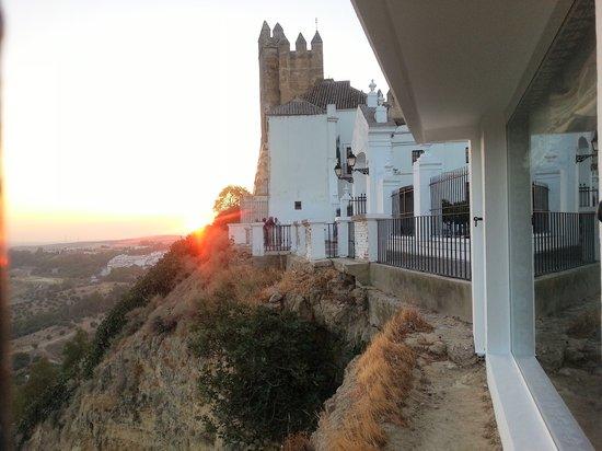 Parador Arcos de la Frontera: sunset
