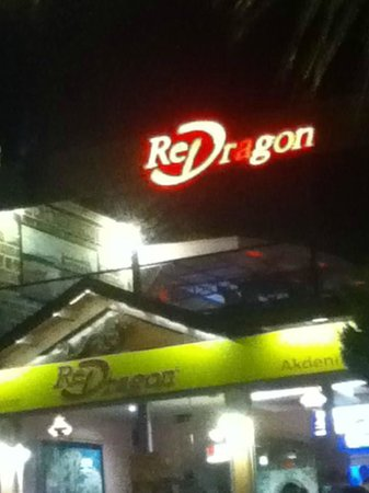 Bitez Red Dragon: night sign