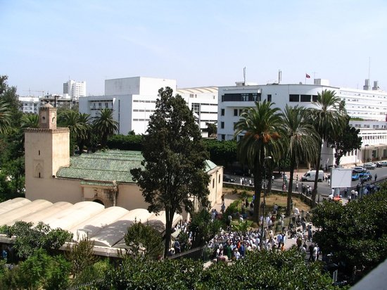 Royal Hotel Rabat : view from the balcony