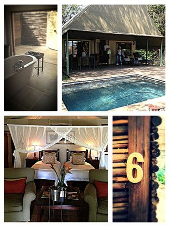 Savanna Private Game Reserve : Photo collage of accomodations