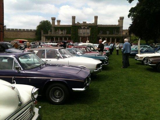 Lincoln Castle car show