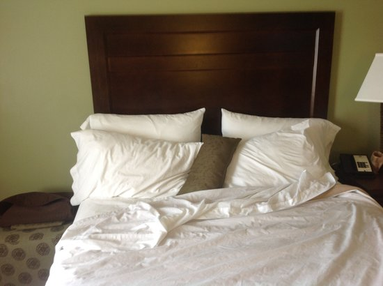 BEST WESTERN PLUS Mirage Hotel & Resort: Lots of pillows