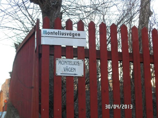 Monteliusvagen: Monteliusvaegen