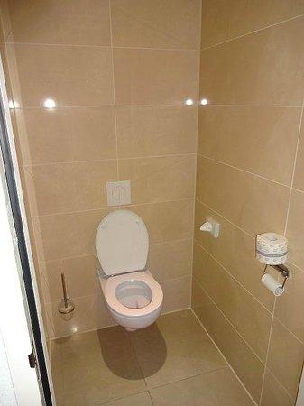 WestCord WTC Hotel Leeuwarden: stanza con wc