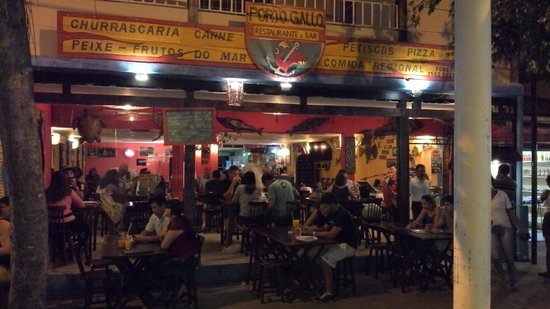 Porto Gallo Bar e Restaurante : Frente do Porto Gallo