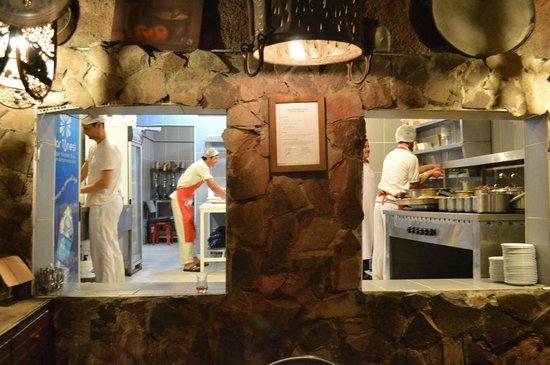 Erzurum Evleri: View into the kitchen