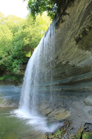 Bridal Veil Falls: kagawong waterfall