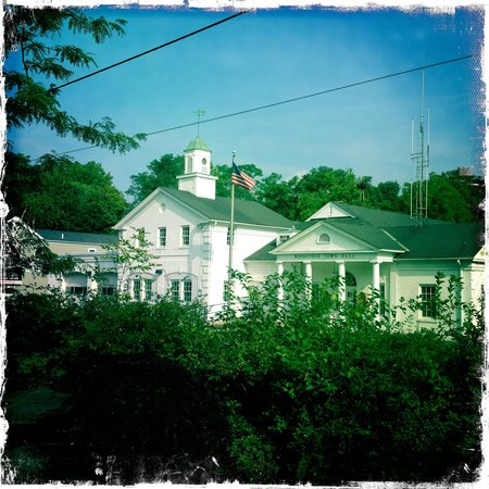 Twin Gables of Woodstock: Memories of Woodstock, view from the b&b