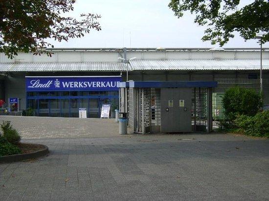 Aachen Lindt Werksverkauf