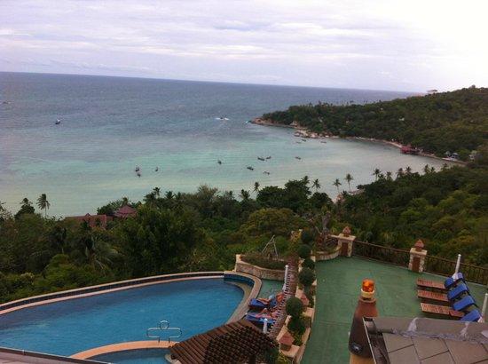 Ko Tao Resort - Paradise Zone: view from front balcony