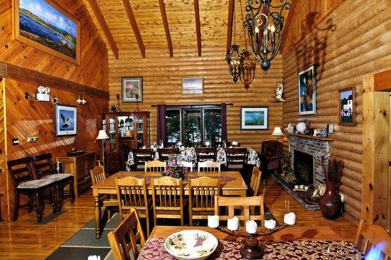 Main Brook, Kanada: Dining Area