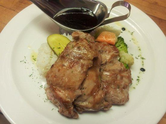 Lakeview Restaurant: chicken teriyaki